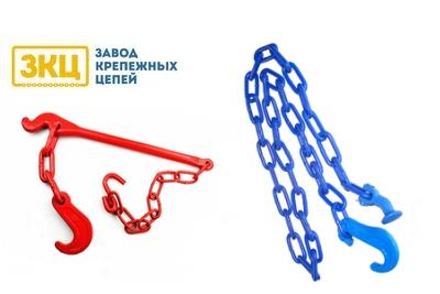 """Комплект DX судового крепления: длиннозвенная цепь и натяжитель """"Медведь"""""""